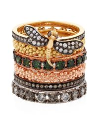 Annoushka | Metallic Alchemy Daisy Ring | Lyst