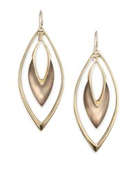 Alexis Bittar | Metallic Lucite Orbit Drop Earrings/brown | Lyst