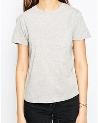 ASOS - Black The Pocket T-shirt 2 Pack Save 20% - Lyst
