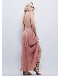 Free People | Brown El Corazon Maxi | Lyst