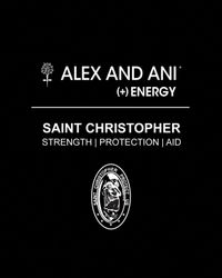 ALEX AND ANI | Metallic St. Christopher Bangle | Lyst