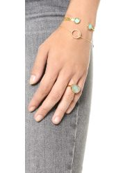 Monica Vinader - Blue Capri Ring - Aquamarine - Lyst