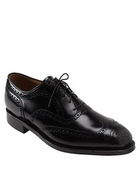 Johnston & Murphy | Black 'waverly' Oxford for Men | Lyst