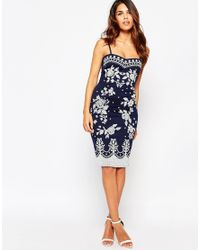 Lipstick Boutique - Blue Carola Bandeau Dress - Lyst