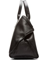 Alexander McQueen | Black Leather De Manta Carry All Tote for Men | Lyst