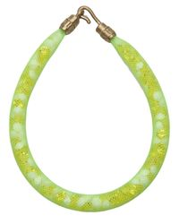Peppercotton - Green Rainbow Bracelet - Lyst