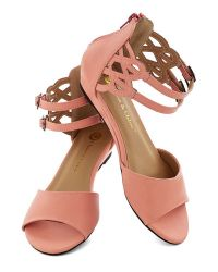 In Touch Footwear - Pink Sarasota Fountain Sandal in Sherbet - Lyst