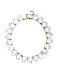 BaubleBar - White Clear Gum Drop Strand - Lyst
