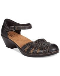 Clarks - Black Collection Women's Wendy Estate Two-piece Sandals - Lyst