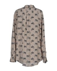Equipment - Pink Signature Printed Washedsilk Shirt - Lyst