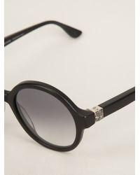 Chrome Hearts | Black 'Pornflakes' Sunglasses | Lyst