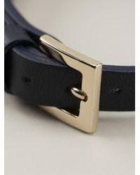 Valentino - Blue Rockstud Bracelet - Lyst