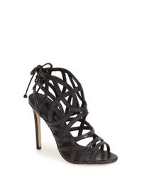 TOPSHOP | Black 'Resort' Sandal | Lyst