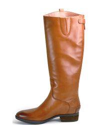 Sam Edelman - Brown Riding Boot - Lyst