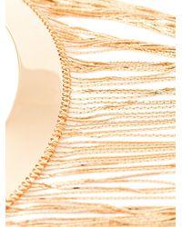 Balmain | Metallic Fringed Necklace | Lyst