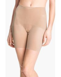 Spanx | Natural 'skinny Britches' Mid-thigh Shaper | Lyst