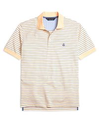 Brooks Brothers | Orange Original Fit Variegated Stripe Polo Shirt for Men | Lyst