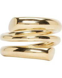 Maiyet | Metallic Gold Coiled Ring | Lyst
