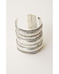 Natalie B. Jewelry | Metallic Azteca Cuff | Lyst