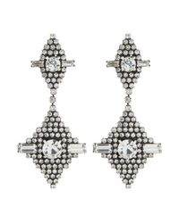DANNIJO | Metallic Faith Earrings | Lyst