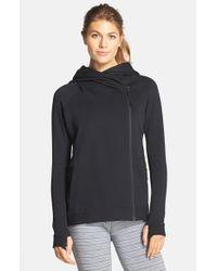 Nike - Black Tech Fleece Cape Jacket - Lyst