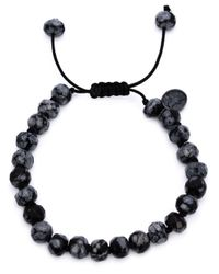 Joseph Brooks | Black Obsidian Beaded Bracelet for Men | Lyst
