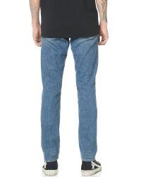 FRAME - Blue L'homme Straight Leg Jeans for Men - Lyst