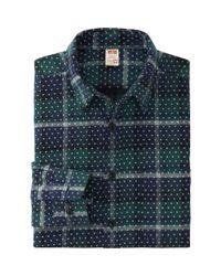 Uniqlo | Green Men Disney Project Flannel Long Sleeve Shirt for Men | Lyst
