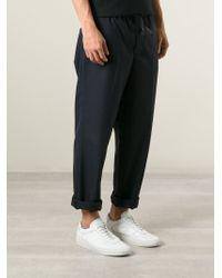 Golden Goose Deluxe Brand | Blue 'star' Trousers for Men | Lyst