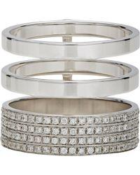 Repossi - Metallic Women's Berbere Module Cage Ring - Lyst