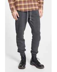 Alternative Apparel | Black 'dodgeball' Eco Fleece Sweatpants for Men | Lyst