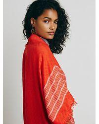 Free People - Red Moon Gazer Woven Kimono - Lyst