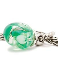Trollbeads | Green Snowdrop Tassel Drop Charm Bead | Lyst