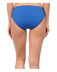 Lauren by Ralph Lauren | Blue Laguna Solids Hipster Bottom W/ Logo Plate | Lyst