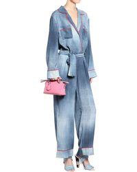 Fendi | By The Way Mini Pink Cross-body Bag | Lyst