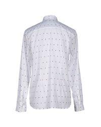 Suit - White Shirt for Men - Lyst