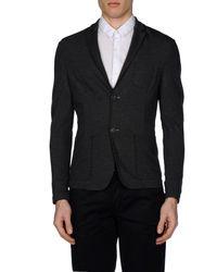 Paolo Pecora - Gray Blazer for Men - Lyst