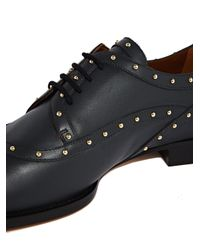 Valentino - Multicolor Womens Leather Studded Brogues - Lyst