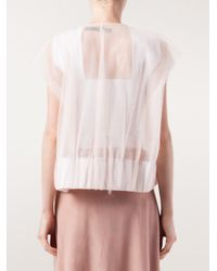 Phoebe English - Natural Sheer Jacket - Lyst
