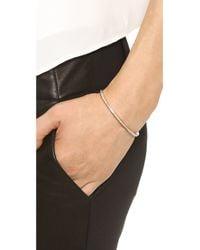 Michael Kors - Pink Pave Open Cuff Bracelet Rose Goldclear - Lyst