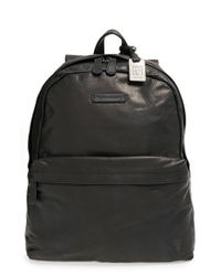Frye | Black 'tyler' Leather Backpack for Men | Lyst