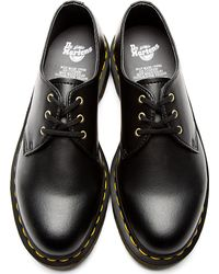 Dr. Martens | Black Vegan 3 Eye Gibson Shoes | Lyst
