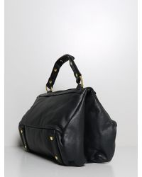 Golden Lane - Soave Duo Satchel Black - Lyst