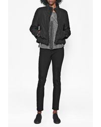 French Connection - Black Misty Puffer Jacket - Lyst