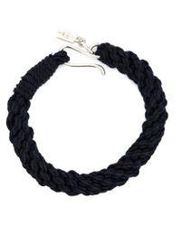 1-100 - Blue Rope Bracelet - Lyst