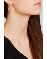 Maria Black - Metallic Auro Gold-plated Earrings - Lyst