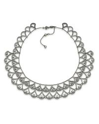 Carolee | Metallic Phantom Crystal Collar Necklace | Lyst