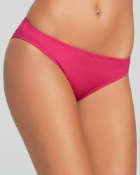 MICHAEL Michael Kors | Pink Watch Band Solids Classic Bikini Bottom | Lyst