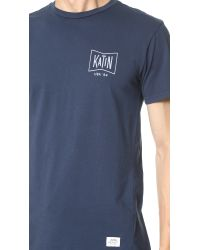 Katin - Blue Grubby Tee for Men - Lyst