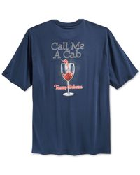 Tommy Bahama | Blue Call Me A Cab T-shirt for Men | Lyst